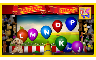 Alphabet Gallery | Learn English ABCs for Children