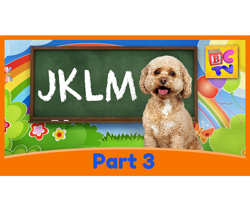 Learn the Alphabet with Lizzy | Part 3