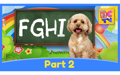 Learn the Alphabet with Lizzy | Part 2