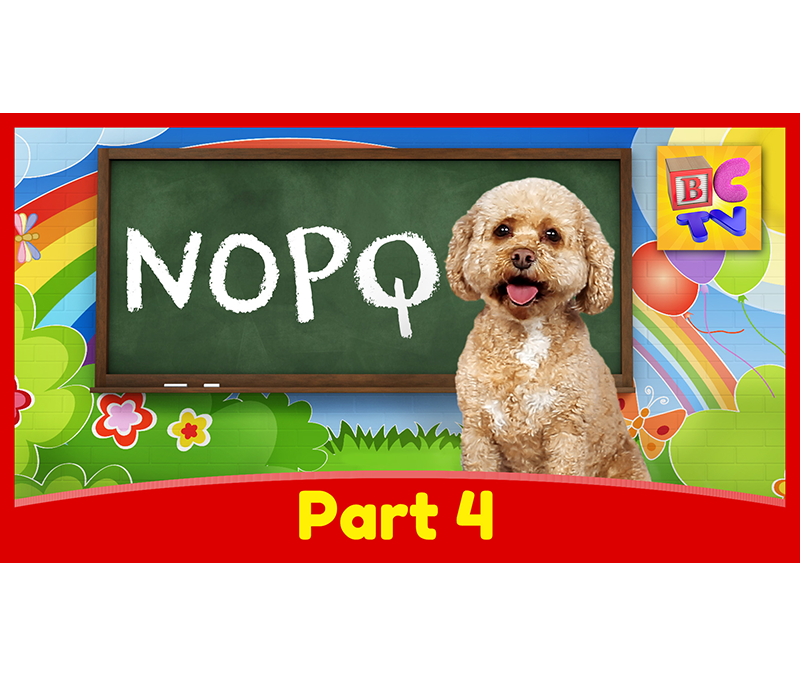 Learn the Alphabet with Lizzy | Part 4