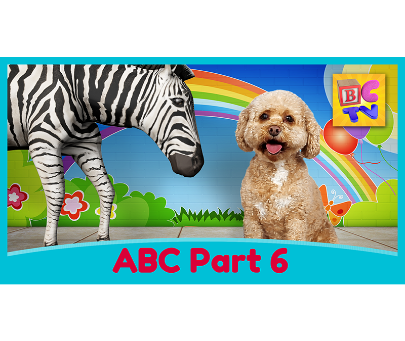 Learn the Alphabet with Lizzy | Part 6