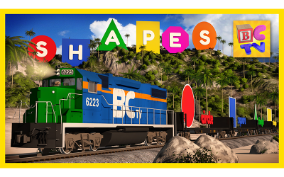 Shapes Train Island Adventure