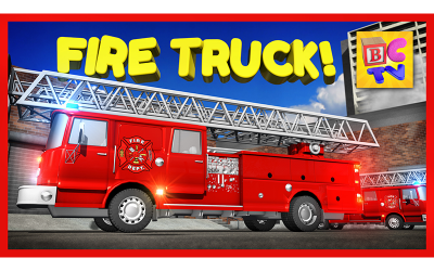 Learn About Fire Trucks for Children