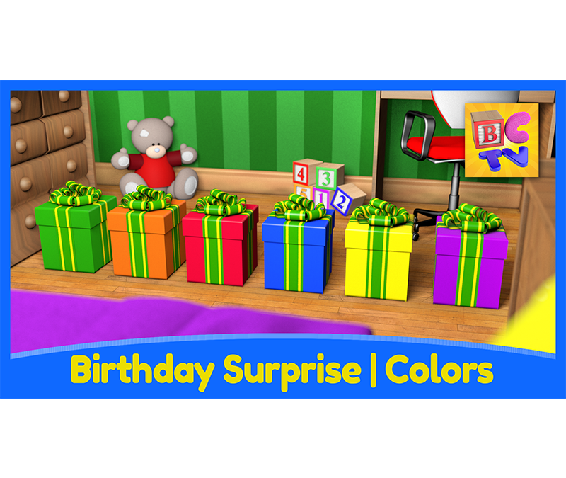 Birthday Surprise | Learn Colors for Kids