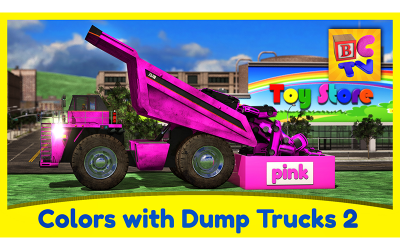 Learn Colors with Dump Trucks Part 2
