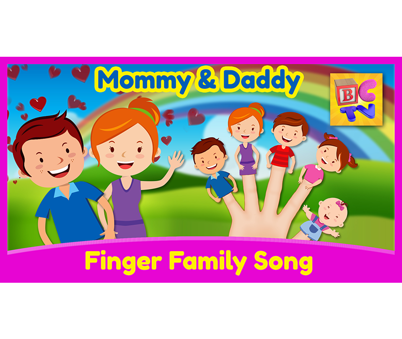 Finger Family Song | Mommy & Daddy
