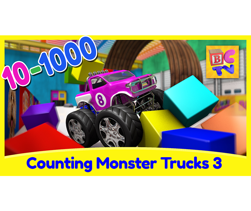 Counting Monster Trucks 3