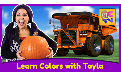 Learn Colors with Tea Time with Tayla
