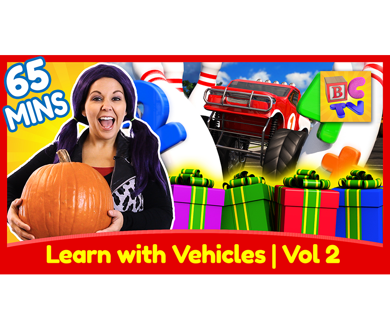 Learn with Vehicles Collection | Vol 2