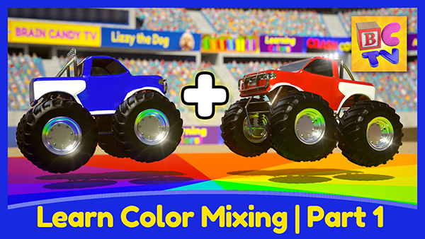 Learn Color Mixing Part 1